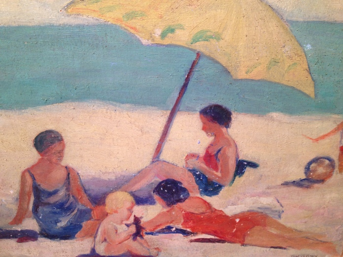 Rehoboth Beach by Bertha Riley.