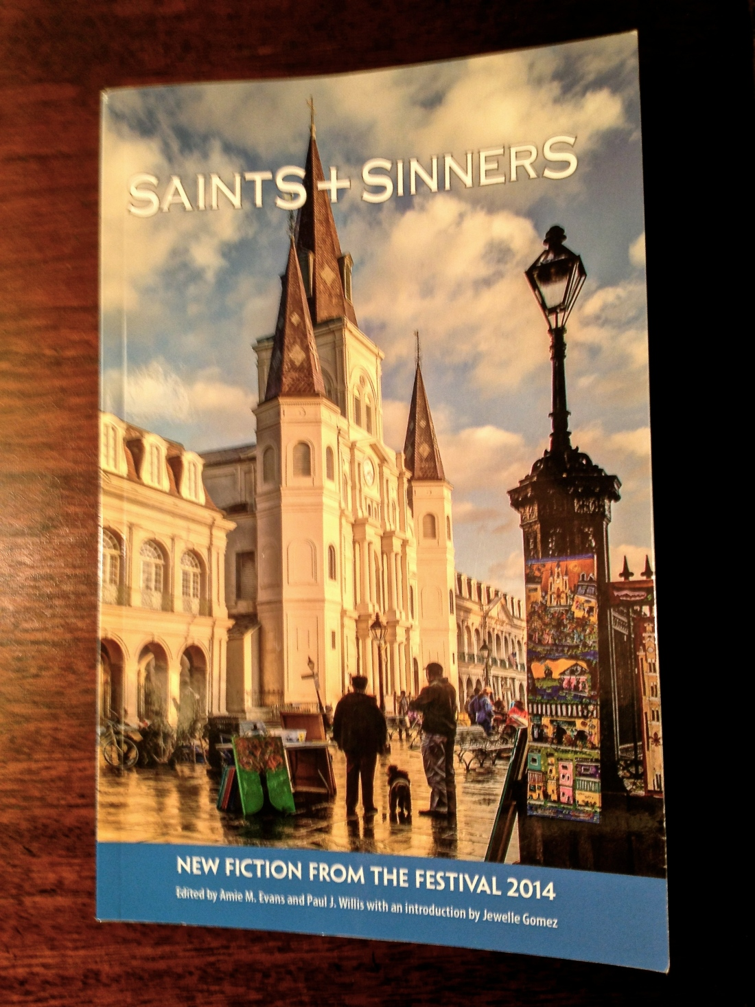 "Anthology of winning short stories in the 6th annual Saints and Sinners Short Story contest.  Yours truly has a piece in the publication entitled ""Stinkbug.""  The anthology is available on Amazon.dom"