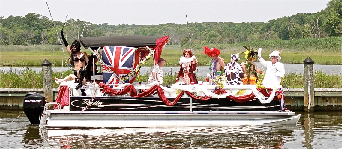 Pie Lady Flotilla  (July 2012)