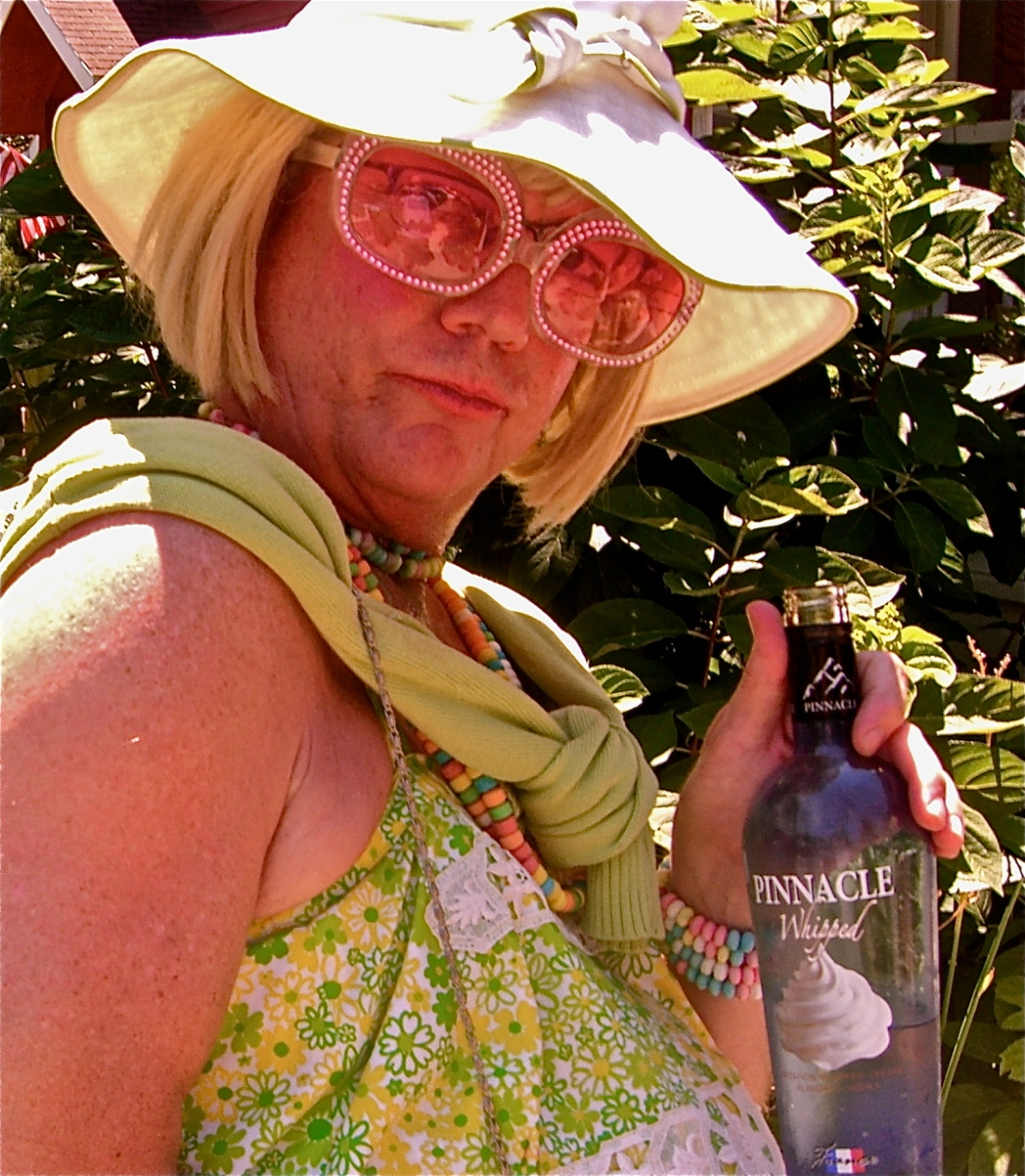 Pie Lady in Lilly (July 2011)