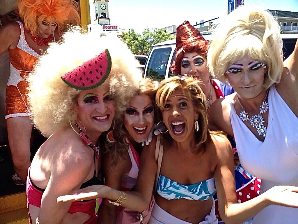 Pie Ladies with Hoda (July 2014)