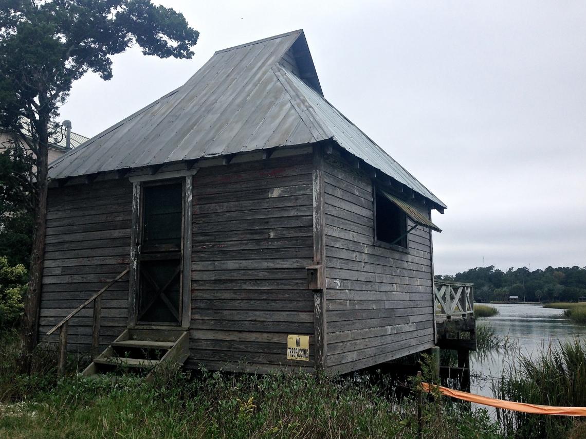 Fishing shack, Pawley's Island.