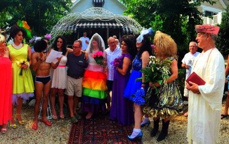 Pie Ladies celebrate marriage equality